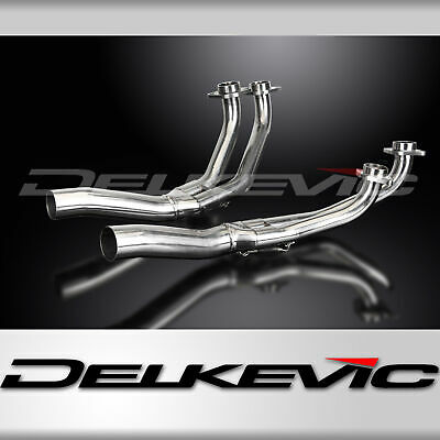 Honda Gl1000-Gl1100K-Kz Goldwing 75-83 Stainless Steel 4-2 Exhaust Downpipes