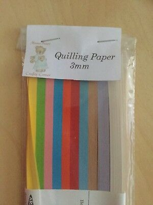 200 Quilling Paper Strips