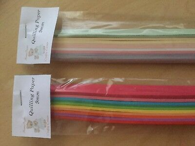 100 Quilling Paper Strips