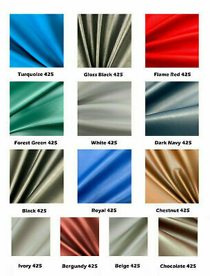 MIAMI LEATHERETTE FABRIC FOR UPHOLSTERY Faux Leather Car Material FR Vinyl 137cm