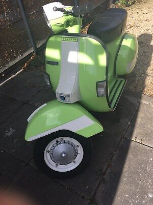 Vespa P2 TAFFSPEED ORIGINAL TERRY FRANKLIN TUNED DEPOSIT TAKEN SOLD