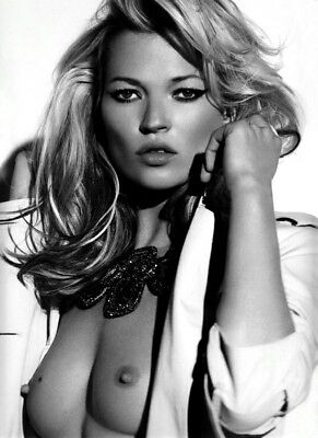 Art Print POSTER / CANVAS Kate Moss