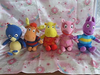 """TY ** RETIRED 8"""" COMPLETE SET BACKYARDIGANS...RARE and HARD to find in set!"""