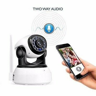 Wireless Baby Monitor 2 Way Talk Back Camera WiFi Motion Detection Night Vision