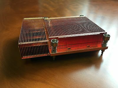 Dell PowerEdge 1855 Blade Heatsink CPU Cooler Copper Air Cooled M6737 0M6737