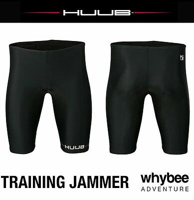 Huub Training Swimwear Triathlon Mens Swimming Training Jammer Black/Red New