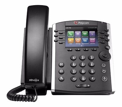 VVX 400 IP Business PoE Telephone (Power Supply Not Included) - 35+ Units Avail.
