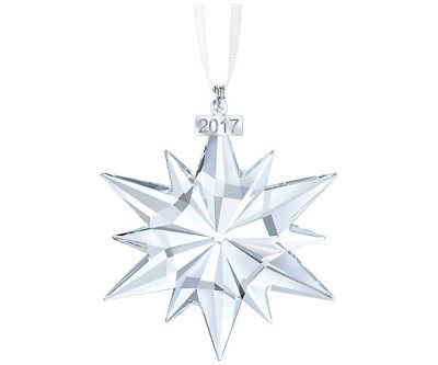 Swarovski Crystal 2017 Annual Edition Christmas Ornament 5257589.new In Box