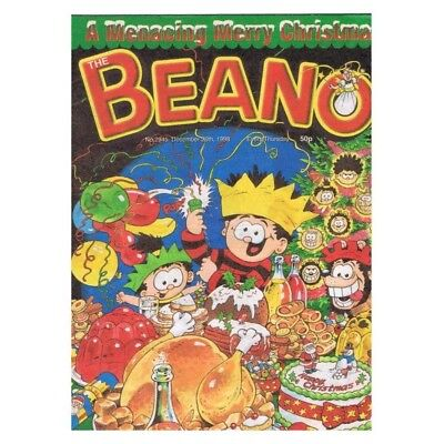 The Beano Comic No.2945 December 26 1998 Dennis Christmas MBox2822