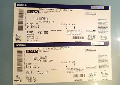 2x traum tickets elbphilharmonie david garrett london. Black Bedroom Furniture Sets. Home Design Ideas