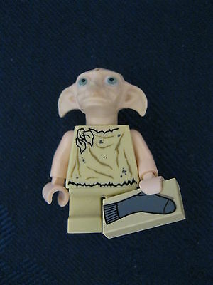 Rare Genuine Lego Harry Potter Minifig Dobby with Sock Tile HP105
