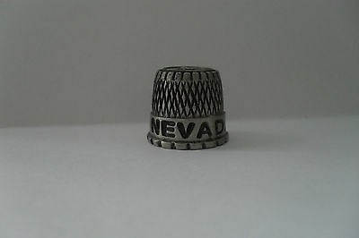 Pewter Thimble - Nevada