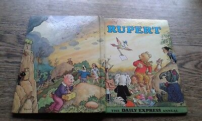 Rupert Annual 1972. Unclipped. Very good Condition. Bestall