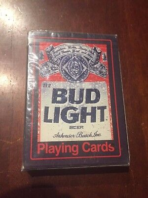 BUD LIGHT BEER PLAYING CARDS by ANHEUSER BUSCH No. 371