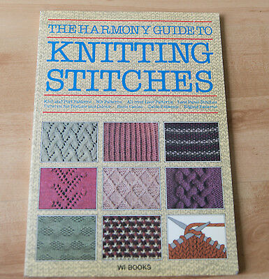 The harmony guide to knitting stitches.