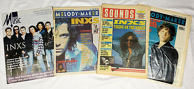 INXS Magazine Lot / Collection - Choose 1 from 4 - 1988-1993
