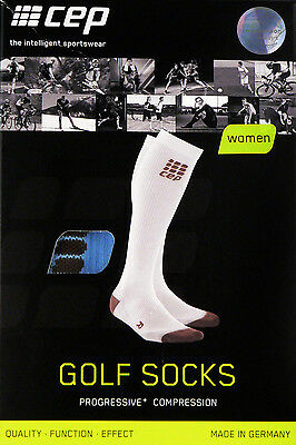 CEP Progressive+ Golf Socks Golfsocken Women Damen Kompression WP40G Sky II Neu