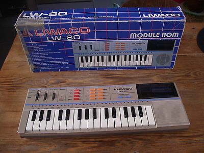 Liwaco LW 80 CLAVIER Keyboard synthe synthetiseur clone Casio PT-82 vintage 1985