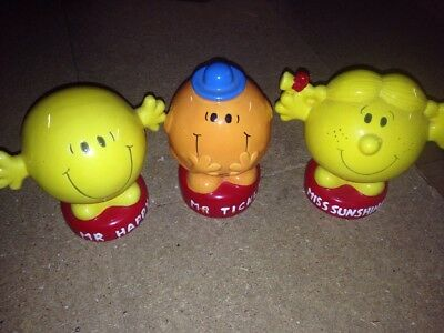 Mr Men And Little Miss  Money Boxes