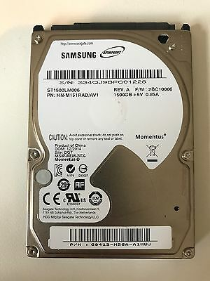 "Seagate Samsung 1.5Tb Momentus 2.5"" 1500Gb Serial Ata Iii St1500Lm006 New"