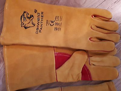Welding Equipment 2 pairs of panther Welding Gauntlets / Gloves premium quality