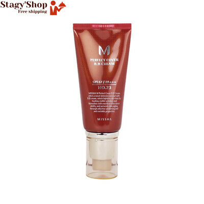 MISSHA M Perfect Cover BB Cream No.23 Natural Beige SPF42 PA+++ (50ml) by...