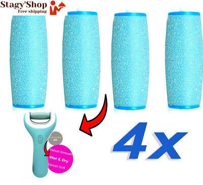 4 x Grain Extra Exfoliant Wet and Dry Rouleaux Ponceurs Micro-Minéraux Extra...