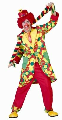 Costume clown lusso pois