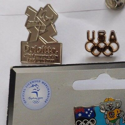 Olympic Games Badges London 2012 Australia 1989 - choice of Pins