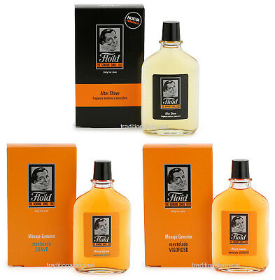 FLOID After Shave for Men - Since 1932 - 150ml Soft and Vigorous Menthol New Box