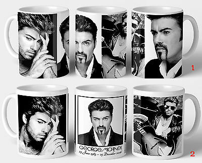 George Michael Commemorative Gift Mug