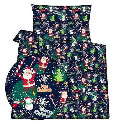 Christmas Nordic baby toddler cot /cot bed bedding set  duvet cover pillowcase