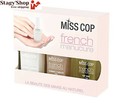 Miss Cop Kit French Manucure 3 Vernis 36 ml