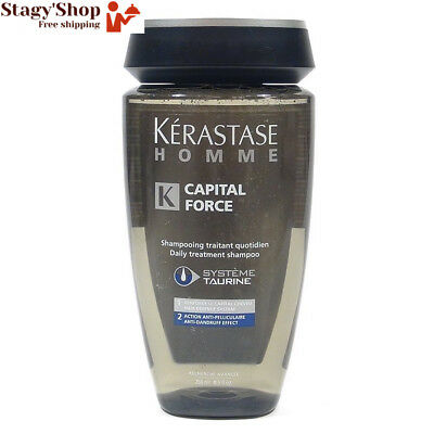 Kerastase Capital Force Shampooing Anti Pelliculaire pour Homme 250 ml