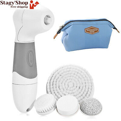 OPPSARE Advanced Waterproof Electric Facial & Body Cleansing Brush, Set pour...