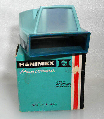 Hanorama Transparency Viewer for 35mm Slides, Excellent, No Batteries Required