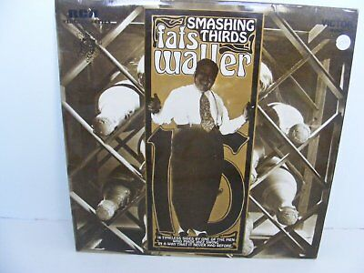 SMASHING THIRDS by FATS WALLER LP.