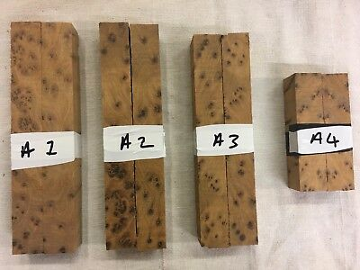 Thuya burl / burr pen blank / turning blank sets