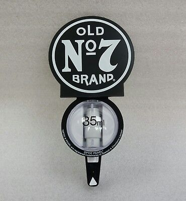 NEW - JACK DANIEL' S OLD No 7 BRAND WHISKY 35ML OPTIC - IDEAL FOR HOME  - PUB
