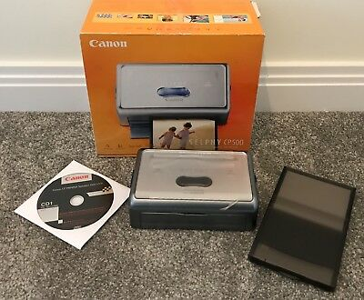 Canon SELPHY CP500 Compact Digital Photo Thermal Printer - New in Box