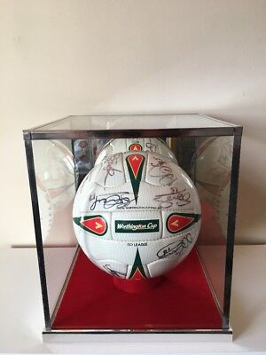 Liverpool Fc 2002/03 Worthington Cup Final Ball. Number 43 Of Only 100 Produced.