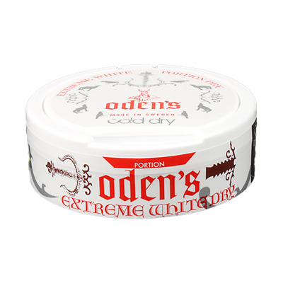 Snus Odens Cold Dry Extreme White! 1 Can!