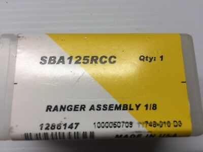 Kennametal SBA125RCC Ranger Face Grooving Support Blade Assembly