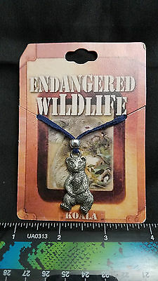 Endangered Wildlife  Necklace, Koala Bear