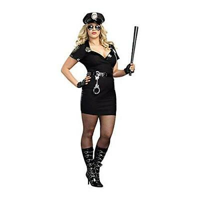 Adulti Dirty Cop Officer Anita bribe Plus sexy costume