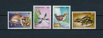 Luxembourg 763-6 MNH, Wildlife Conservation, 1987