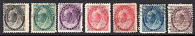 CANADA 1898 QV Issues Used
