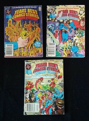 Best of DC Blue Ribbon Digest - Year's Best Comics Stories Lot of 3