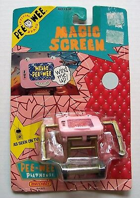 Vintage 1988 Matchbox Pee Wee Playhouse Magic Screen  New