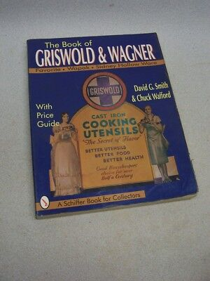 Original Collectable GRISWOLD & WAGNER Pricing Guide book Cast Iron baking